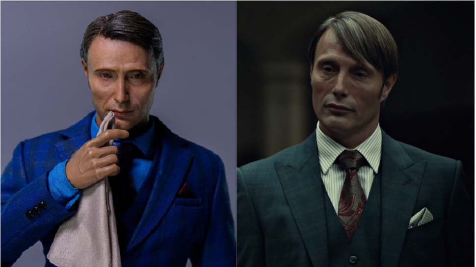This HANNIBAL Figure Will Haunt You Over a Nice Meal