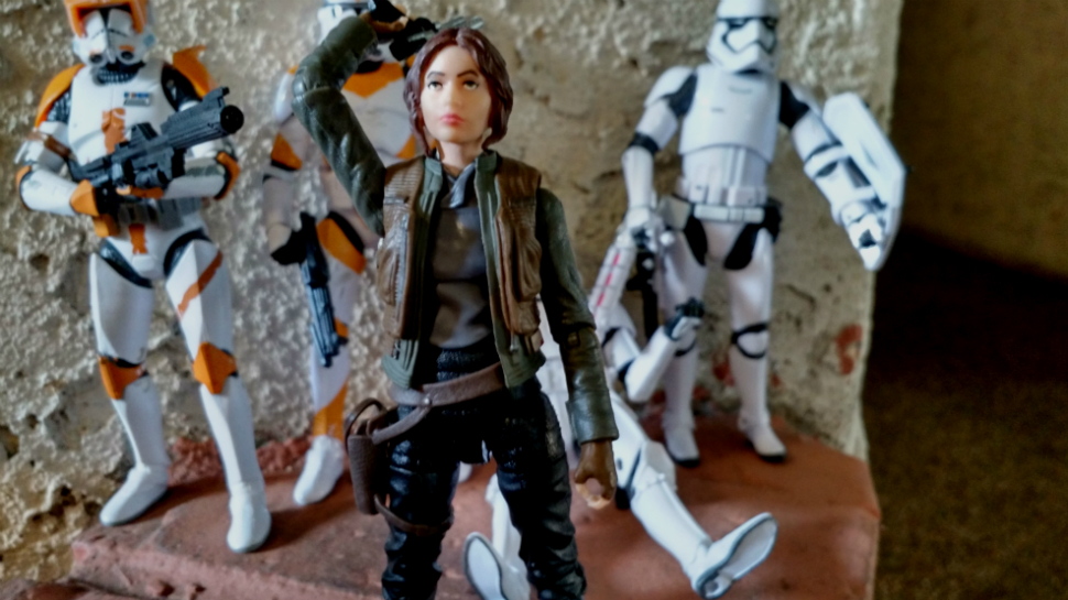 Figures and Speech: STAR WARS 6-Inch Exclusive Troop 4-Pack, Jyn Erso, and Cassian Andor