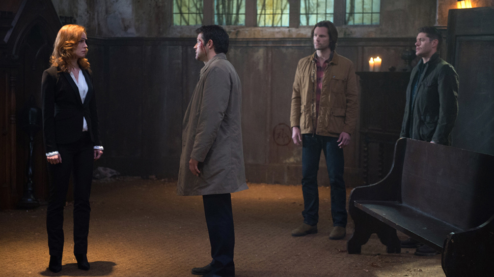 SUPERNATURAL Stars Talk Seeing a New (or Old) Side to Castiel