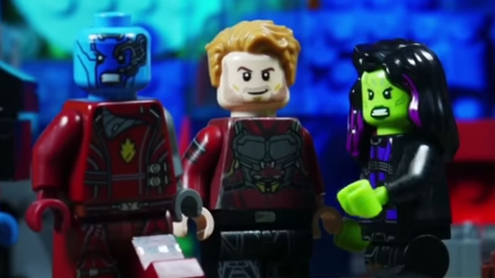 GUARDIANS OF THE GALAXY VOL. 2 Trailer Gets the LEGO Treatment