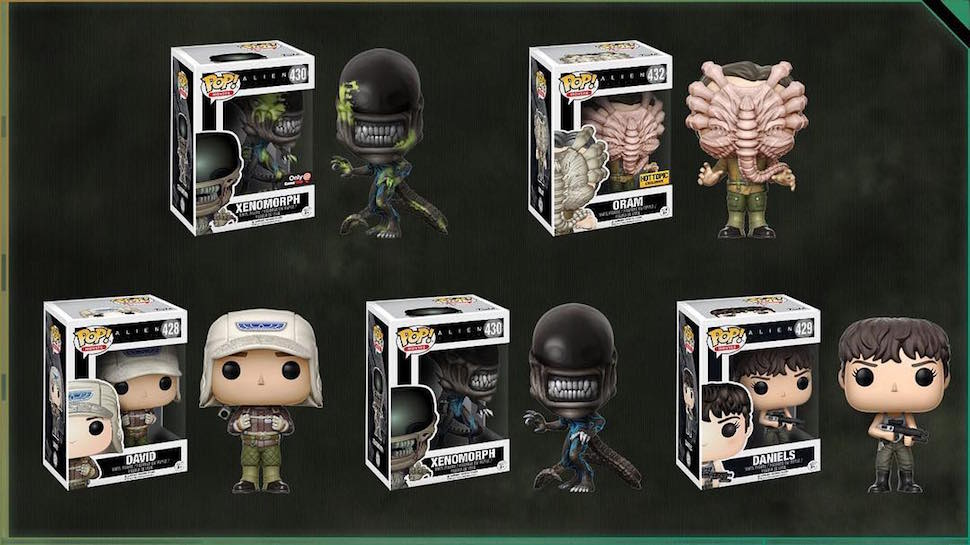 ALIEN: COVENANT Funko POP! and NECA Toys Arrive For #AlienDay