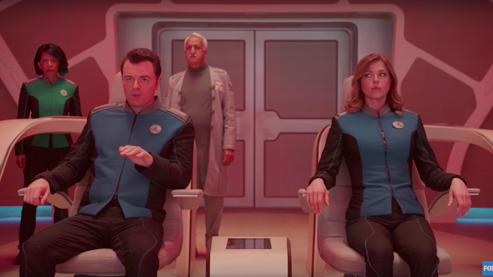Seth MacFarlane's THE ORVILLE Could Be One of the Better STAR TREK Parodies