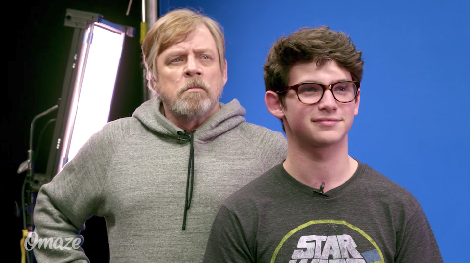Mark Hamill Runs STAR WARS Lines with Unsuspecting Fans in Force For Change Video
